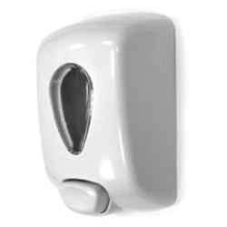 DISPENSADOR JABON ABS BLANCO TIM-022704