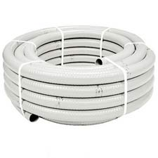 TUBO FLEXIBLE PVC BLANCO 40/34 (MTS)