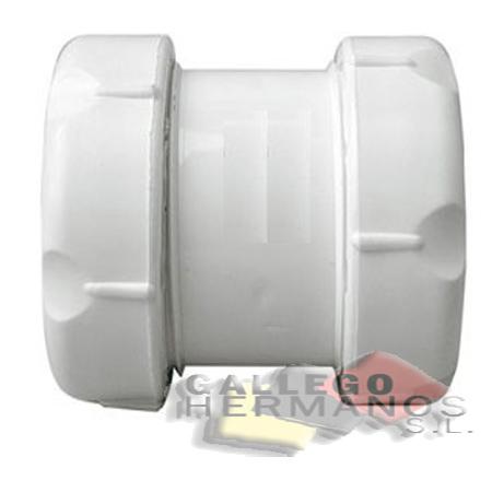ENLACE PVC-PLOMO MIXTO DOBLE ROSCA 32