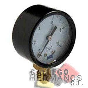 MANOMETRO DT 50 0-10 KG. PRESION