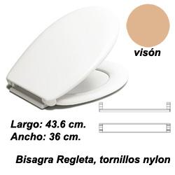 ASIENTO INODORO REINA BR BEIG VISON