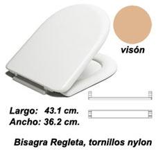 ASIENTO INODORO MILOS BR BEIG VISON