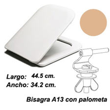 ASIENTO INODORO FESTA A-13 BEIG VISON