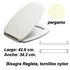 ASIENTO INODORO PRINCESA BR PERGAMON