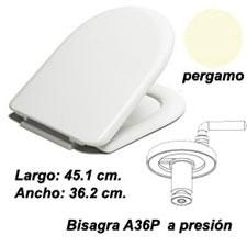 ASIENTO INODORO MILOS M-36P PERGAMON